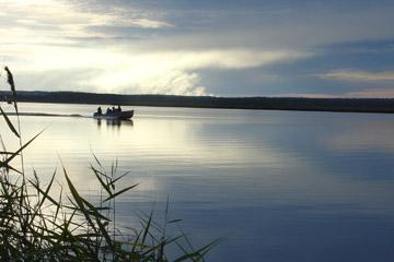 рыбалка поселок аять